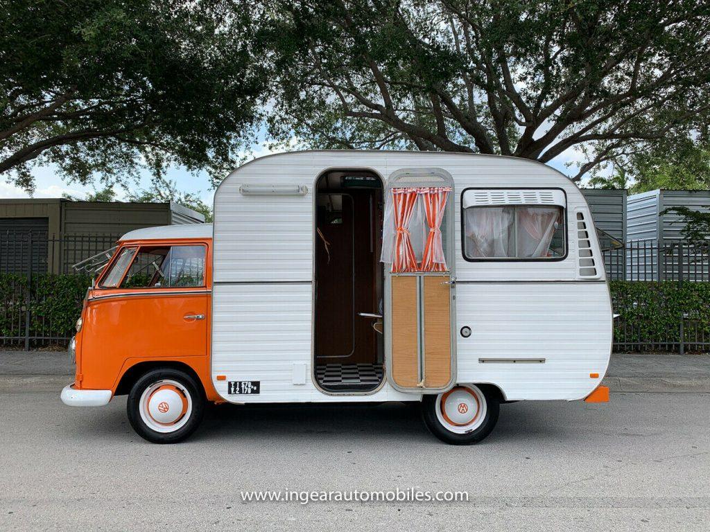 Volkswagen Bus Camper VW side profile