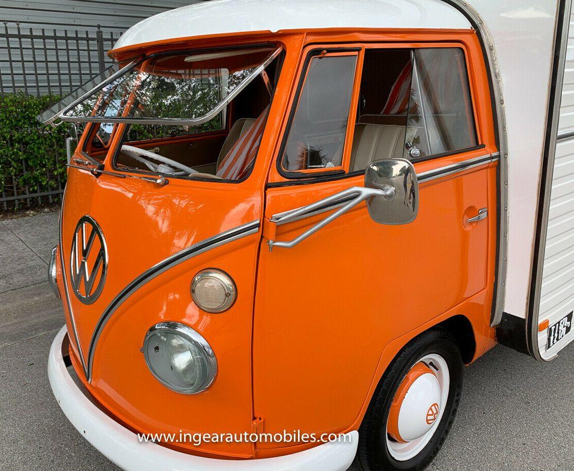 Volkswagen Bus Camper VW front end