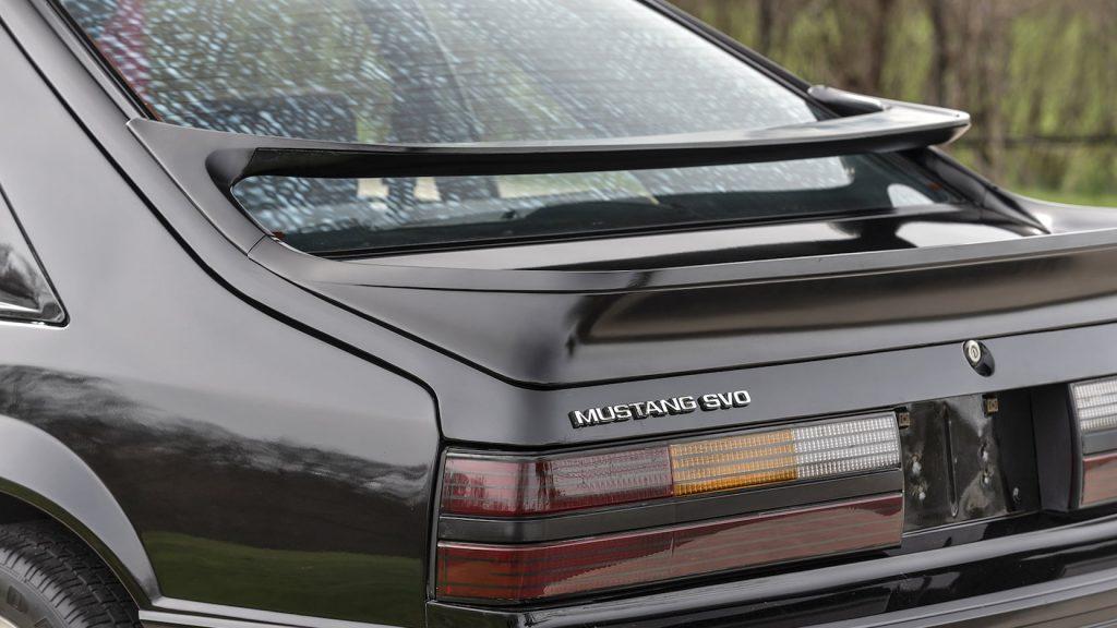 1984 Ford Mustang SVO Rear Spoiler