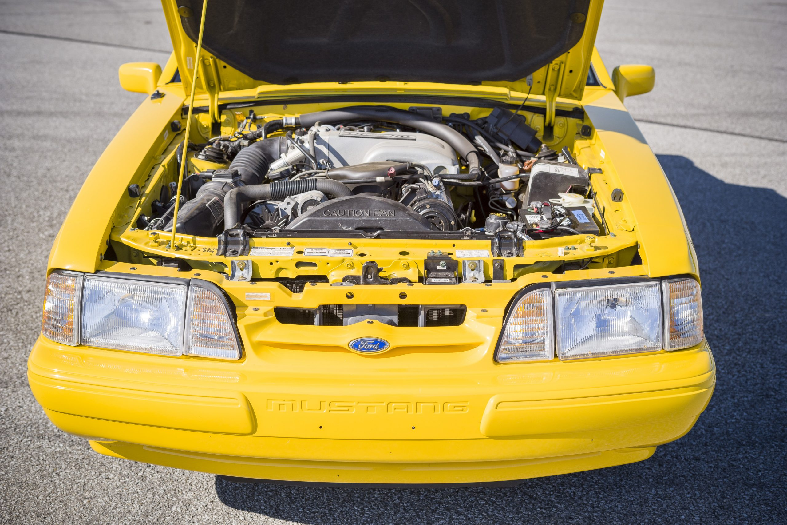 1993 Ford Mustang LX engine