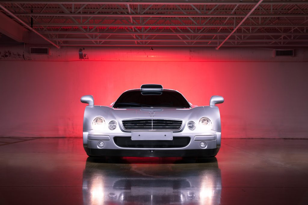 1998 Mercedes-Benz AMG CLK GTR front studio