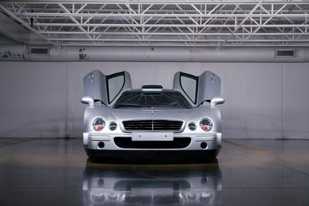 1998 Mercedes-Benz AMG CLK GTR doors up front studio