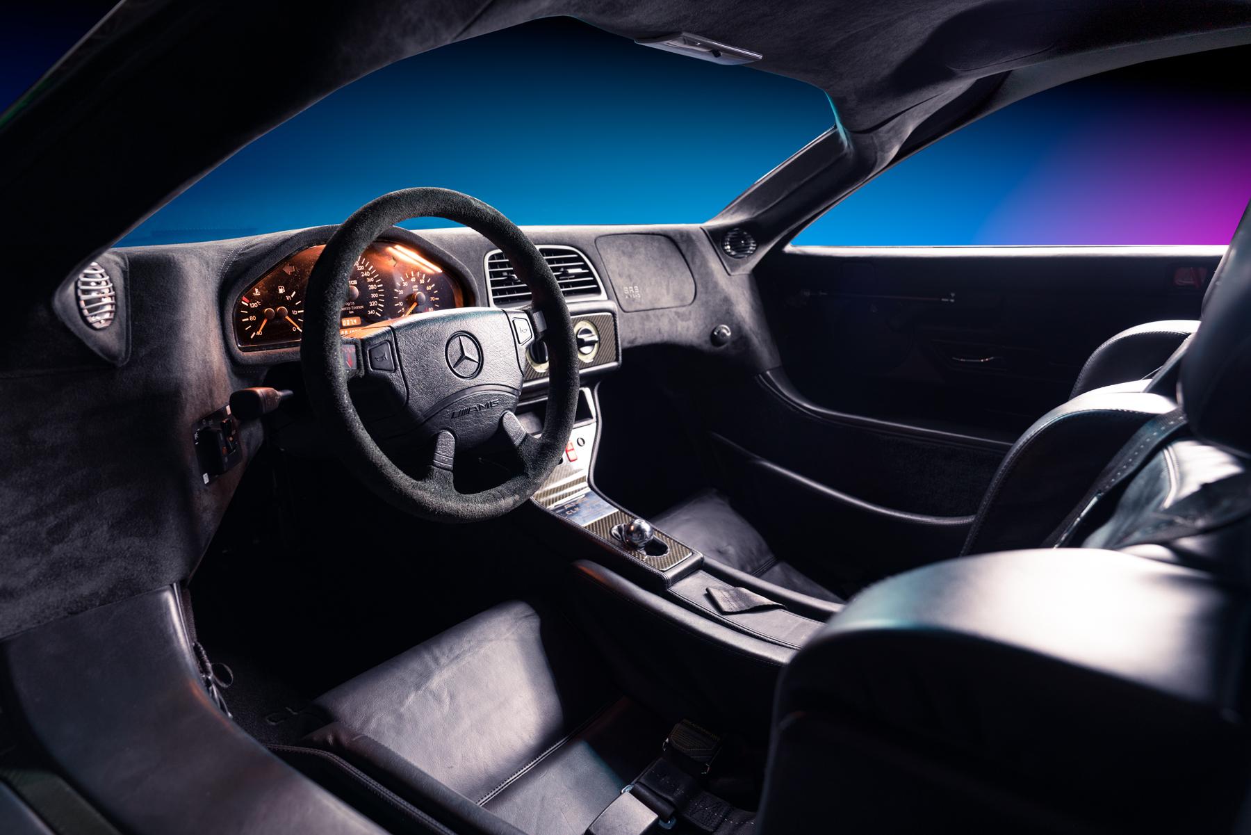 1998 Mercedes-Benz AMG CLK GTR interior studio