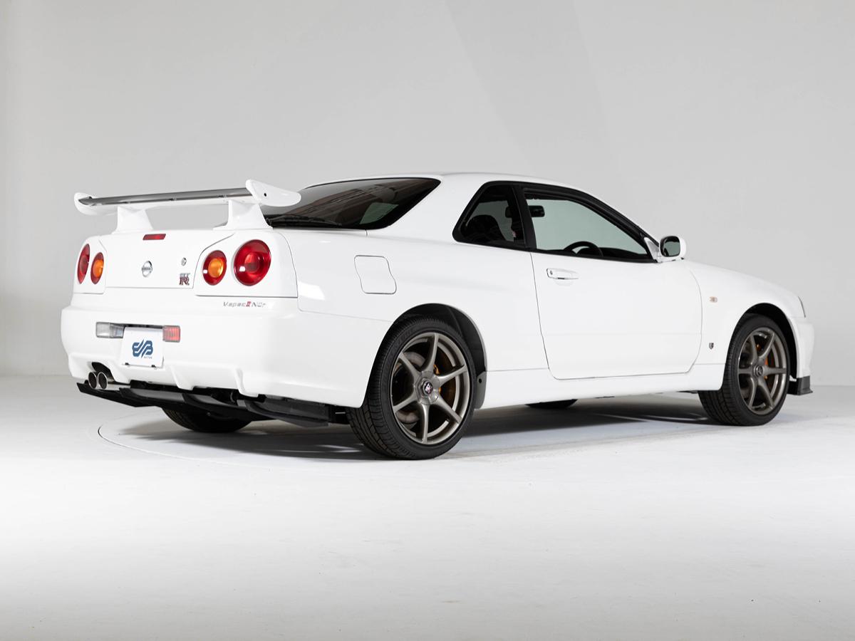 Nissan Skyline GTR rear three-quarter