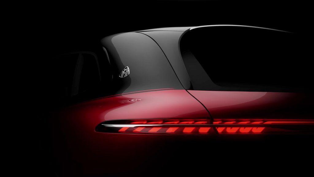 Mercedes-Maybach EV SUV teaser