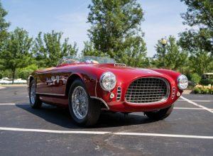 2021 COA Best of Show 1953 Ferrari 250MM 1