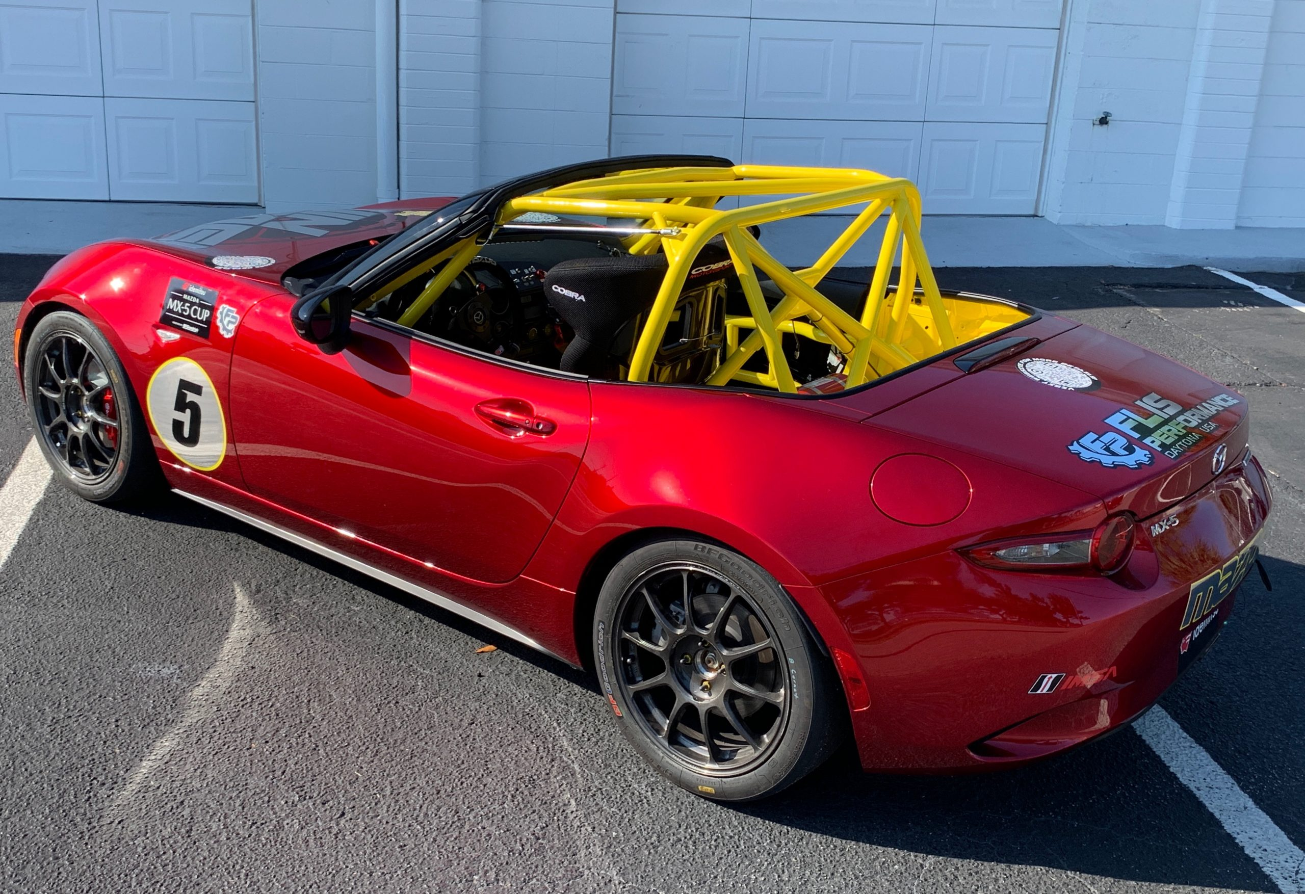 It's the white flag lap for your chance to win a Global MX-5 Cup Car with Lemons of Love