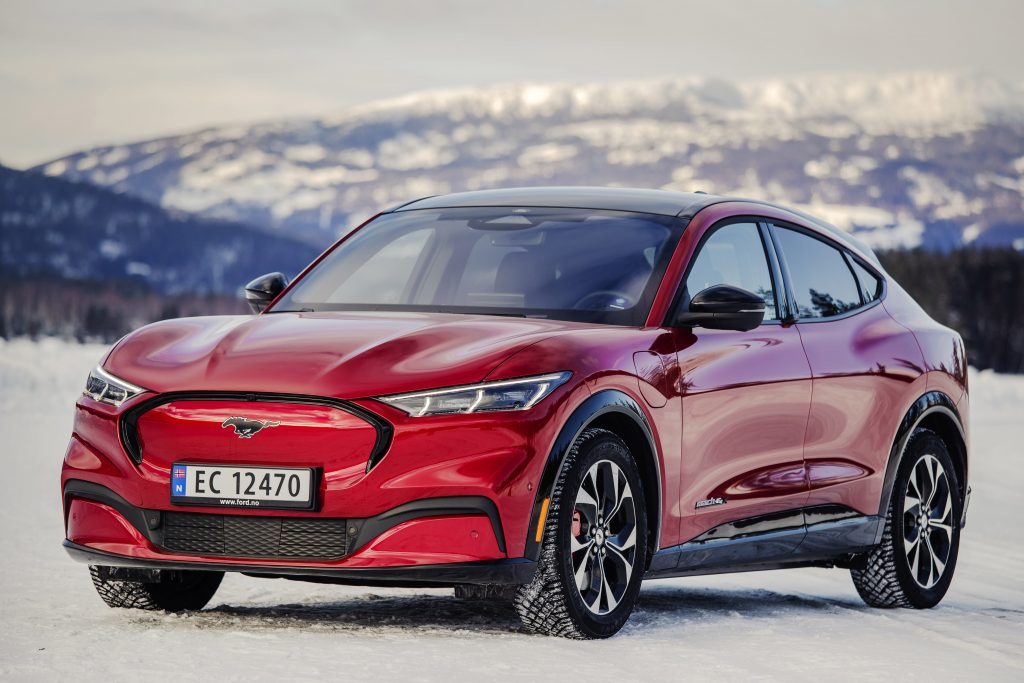 2021 Ford Mach-E Norway