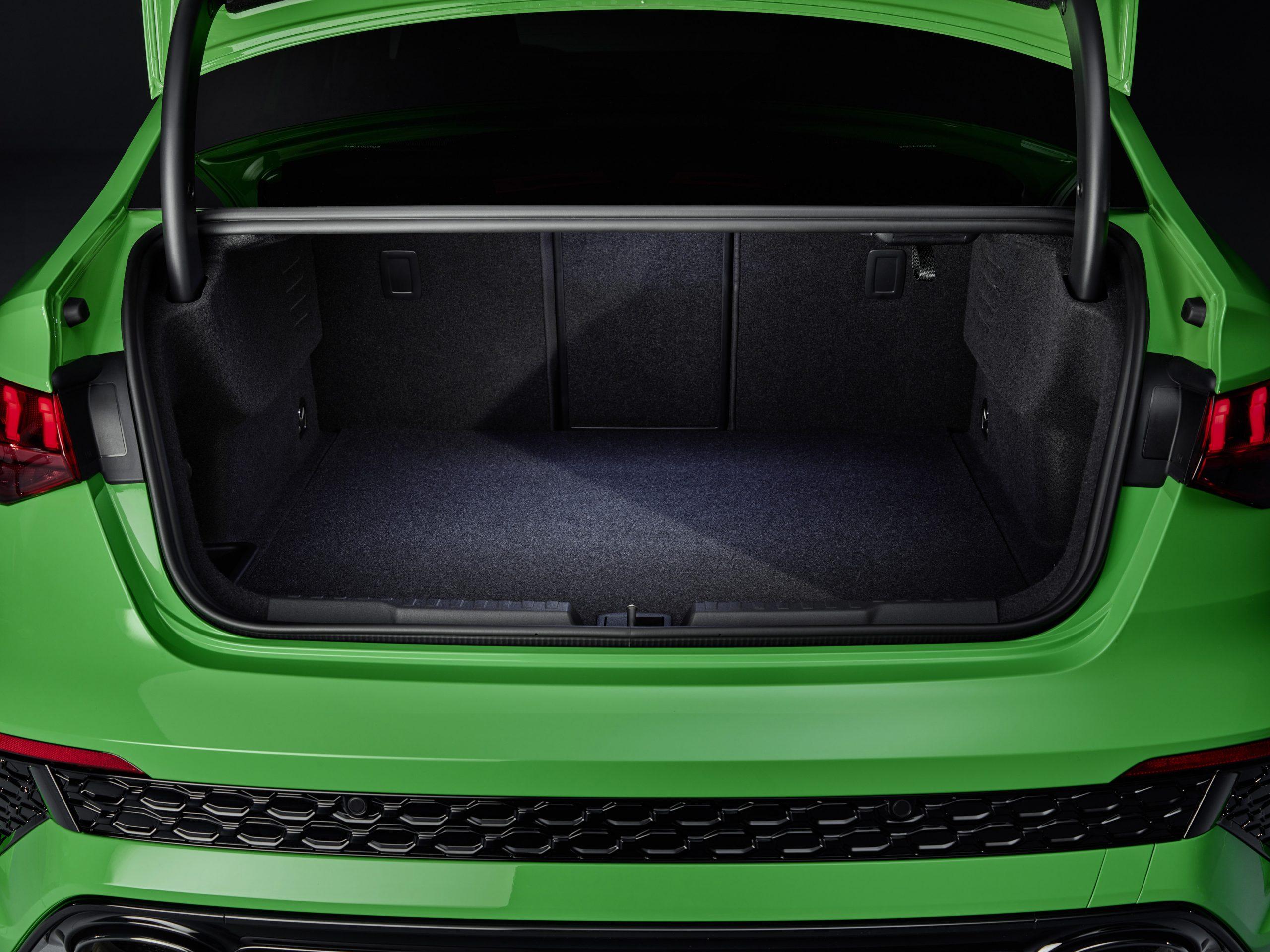 2022 audi rs 3 interior trunk