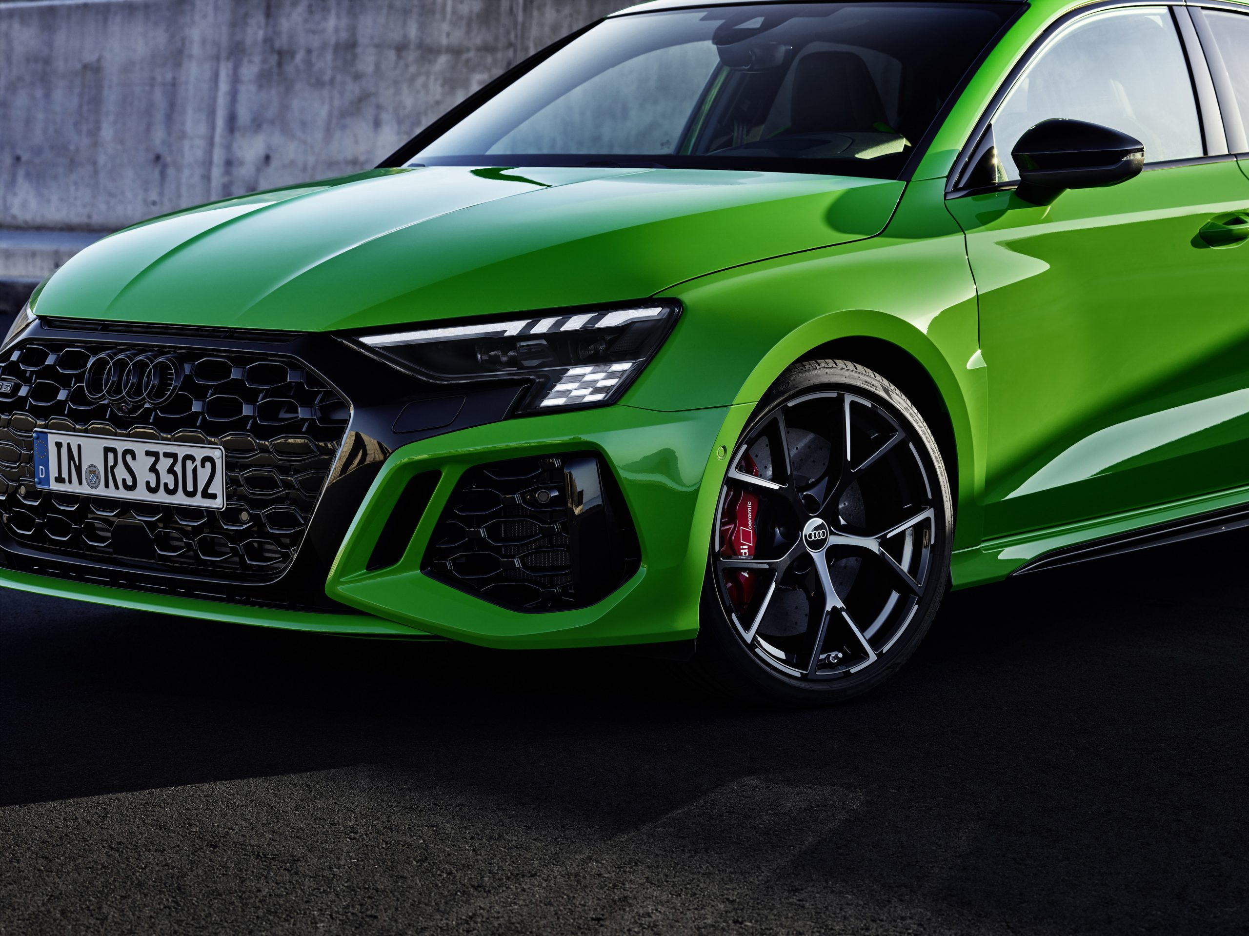 2022 audi rs 3 front