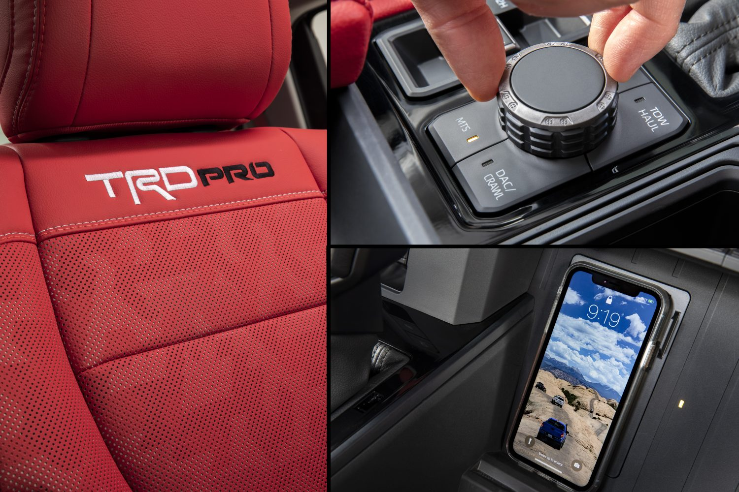 2022 Toyota teaser red seats crawl control