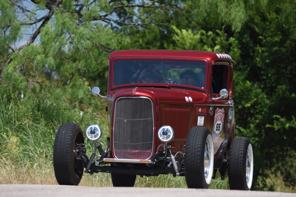 Gentry 1932 Ford on road