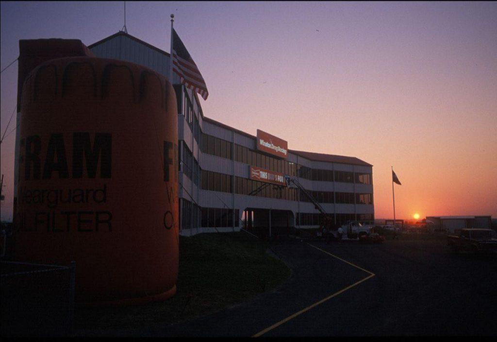 Houston Raceway Park sunset photo