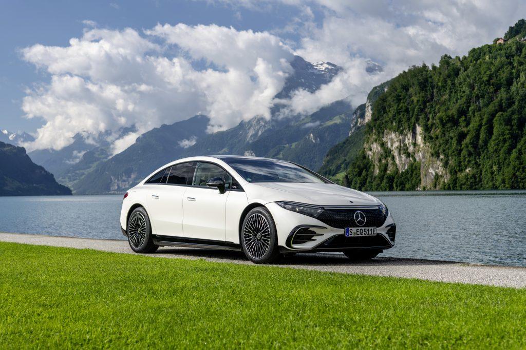 2022 EQS by Mercedes-EQ 580 4MATIC
