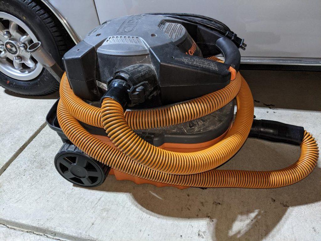 Car Odor Treatment vacuum