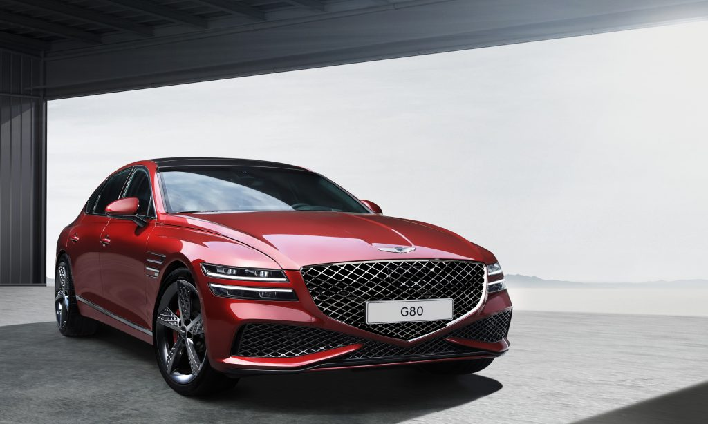 Genesis G80 Sport first images