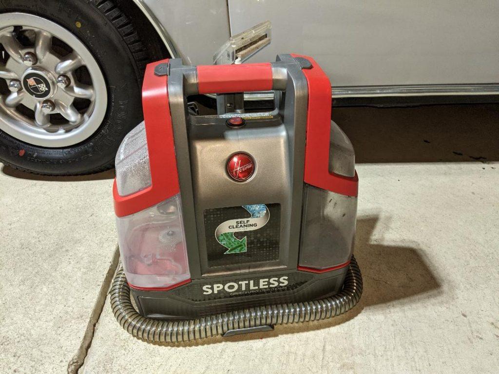 Car Odor Treatment wet vacuum