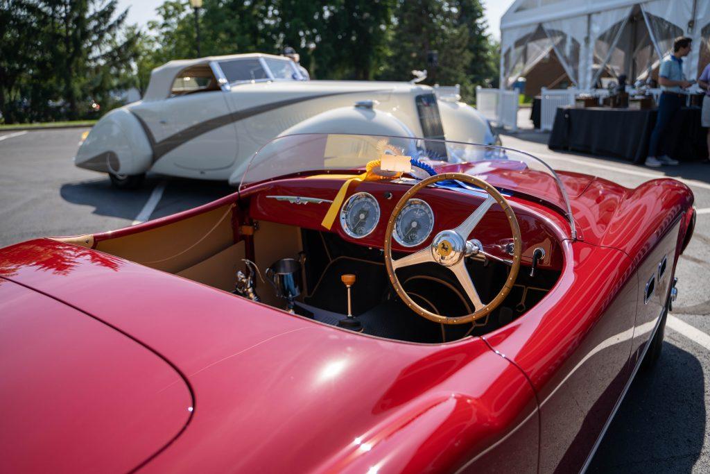 2021 COA Best of Show winners 1953 Ferrari 250MM interior