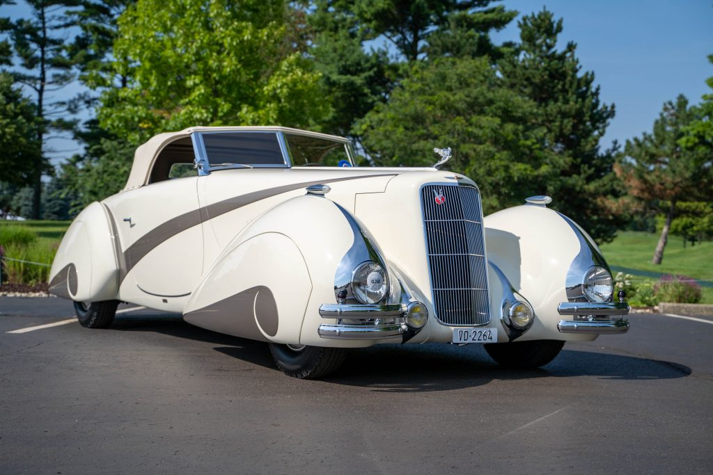 1937 Cadillac Series 90 2021 COA Best of Show winner