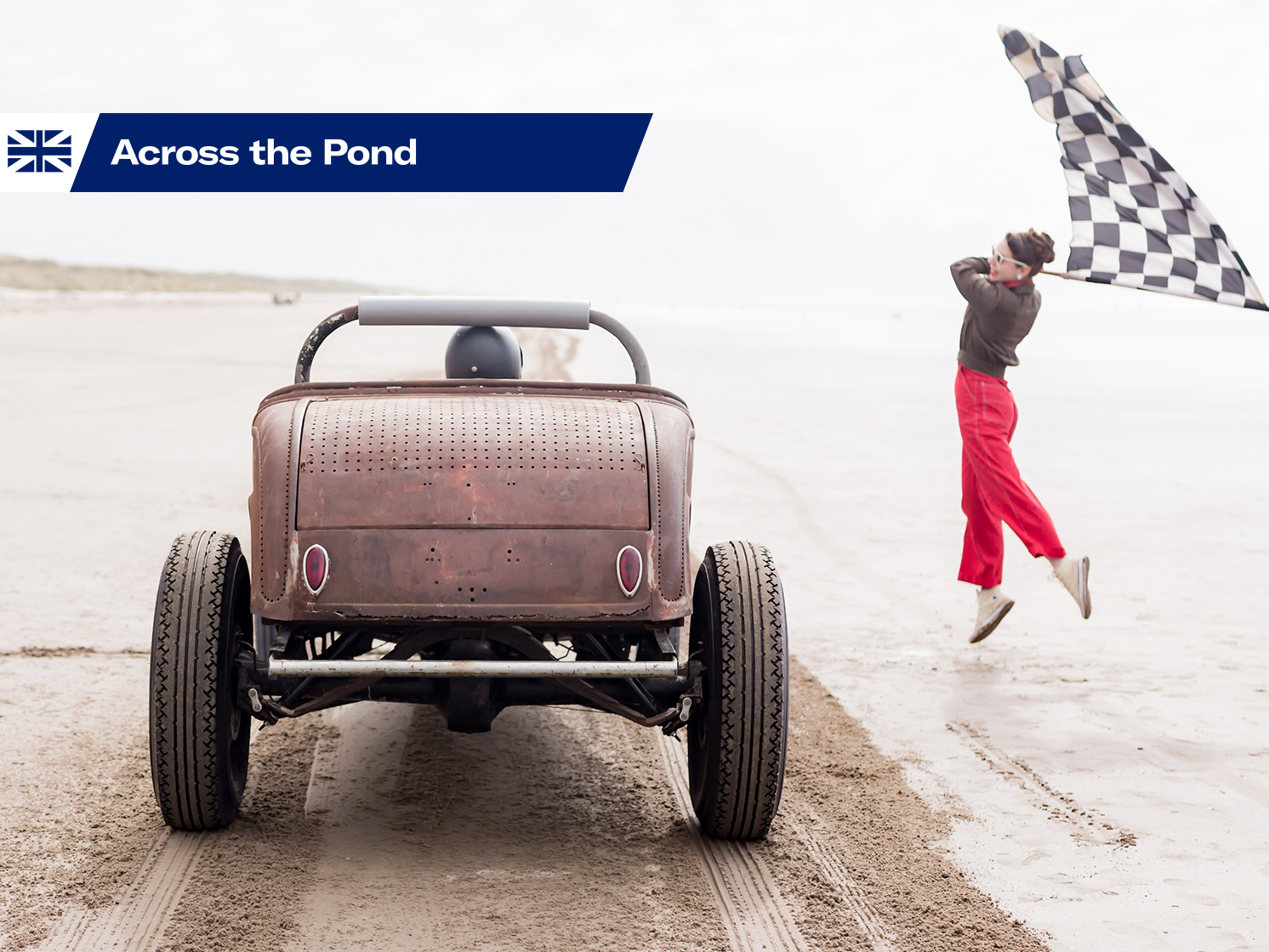 Sand Storm: Women of speed tackle Pendine Sands in hot rods