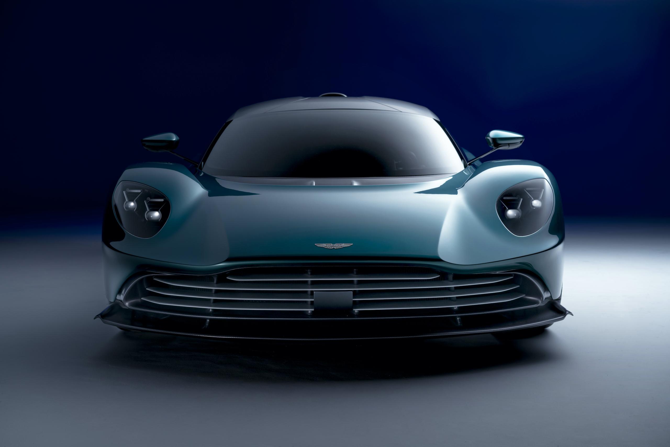Aston Martin Valhalla front