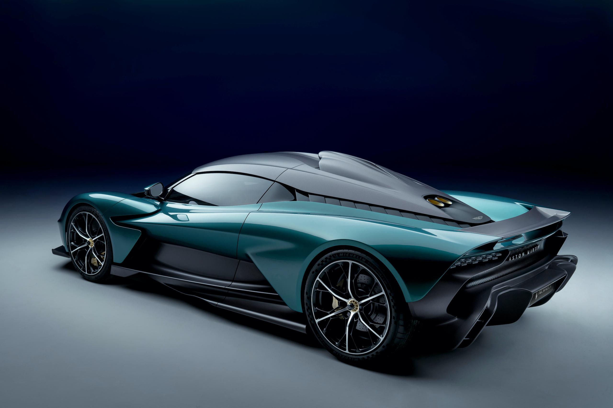 Aston Martin Valhalla rear three-quarter