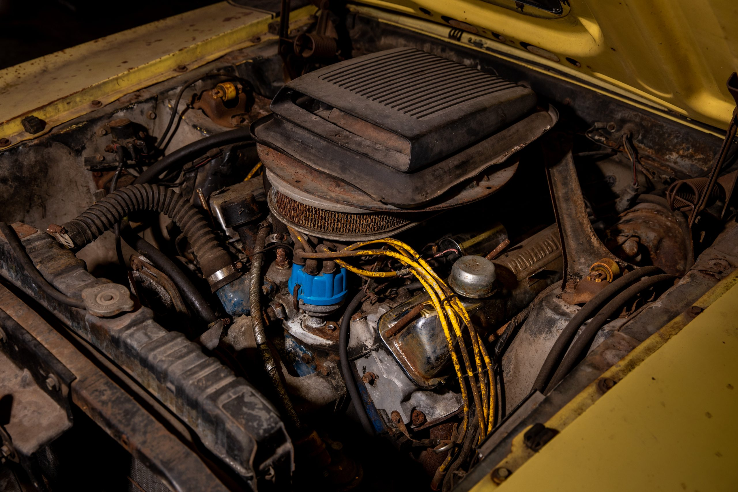 Boss Mustang connection engine