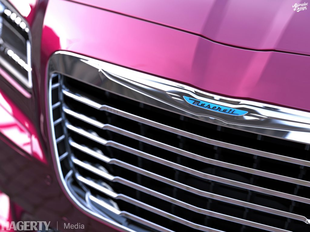 Chrysler TC by Maserati What If grille