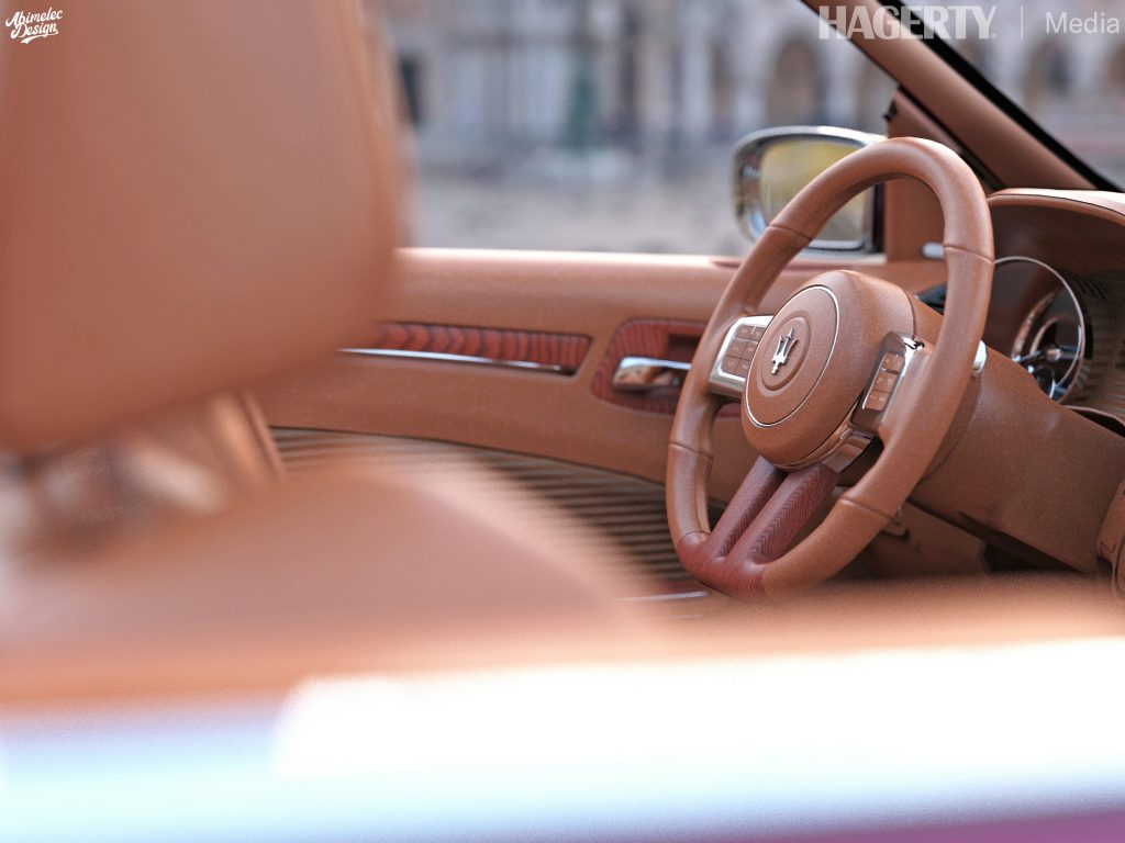 Chrysler TC by Maserati What If interior