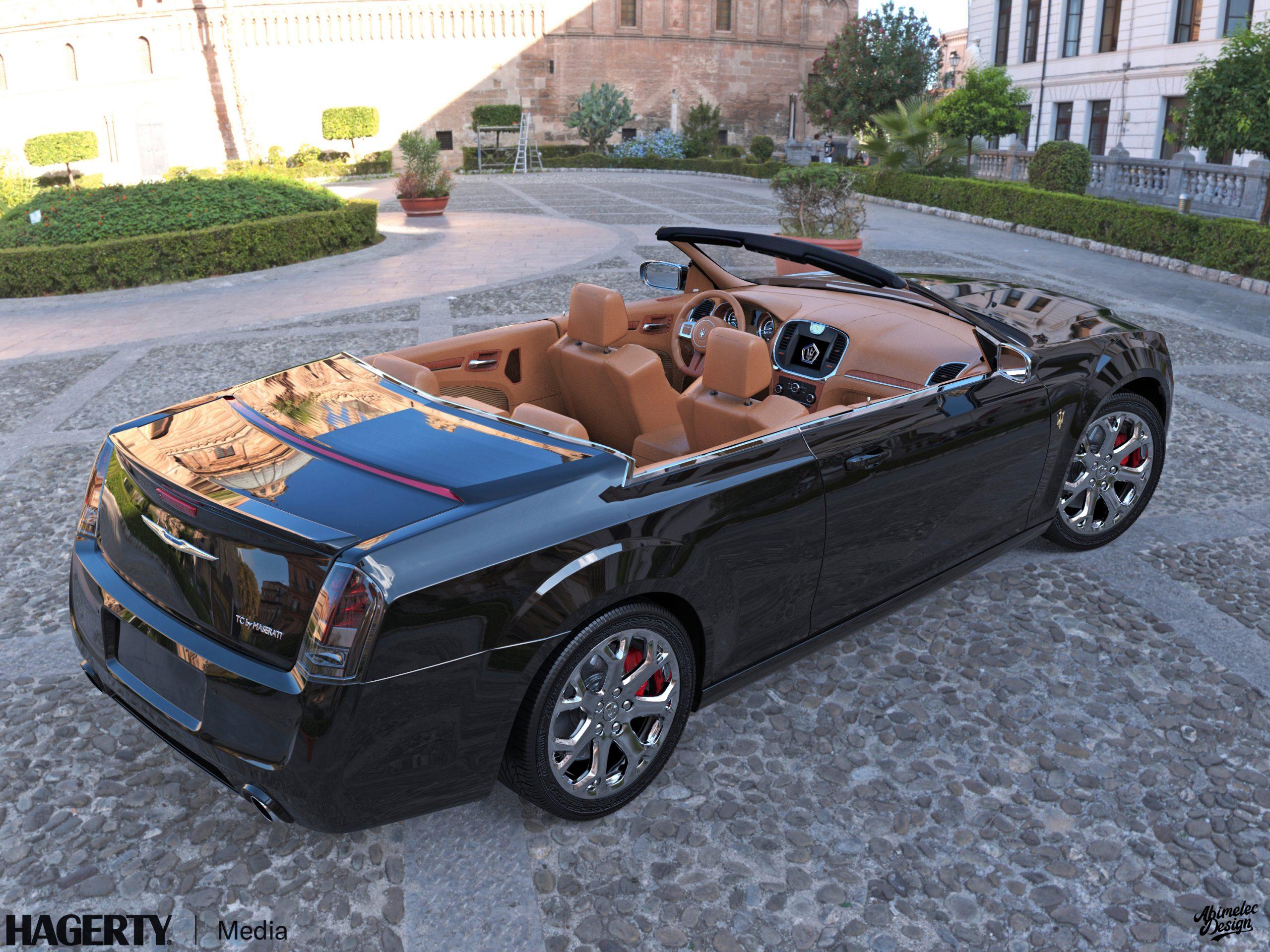 Chrysler TC by Maserati What If black chrome