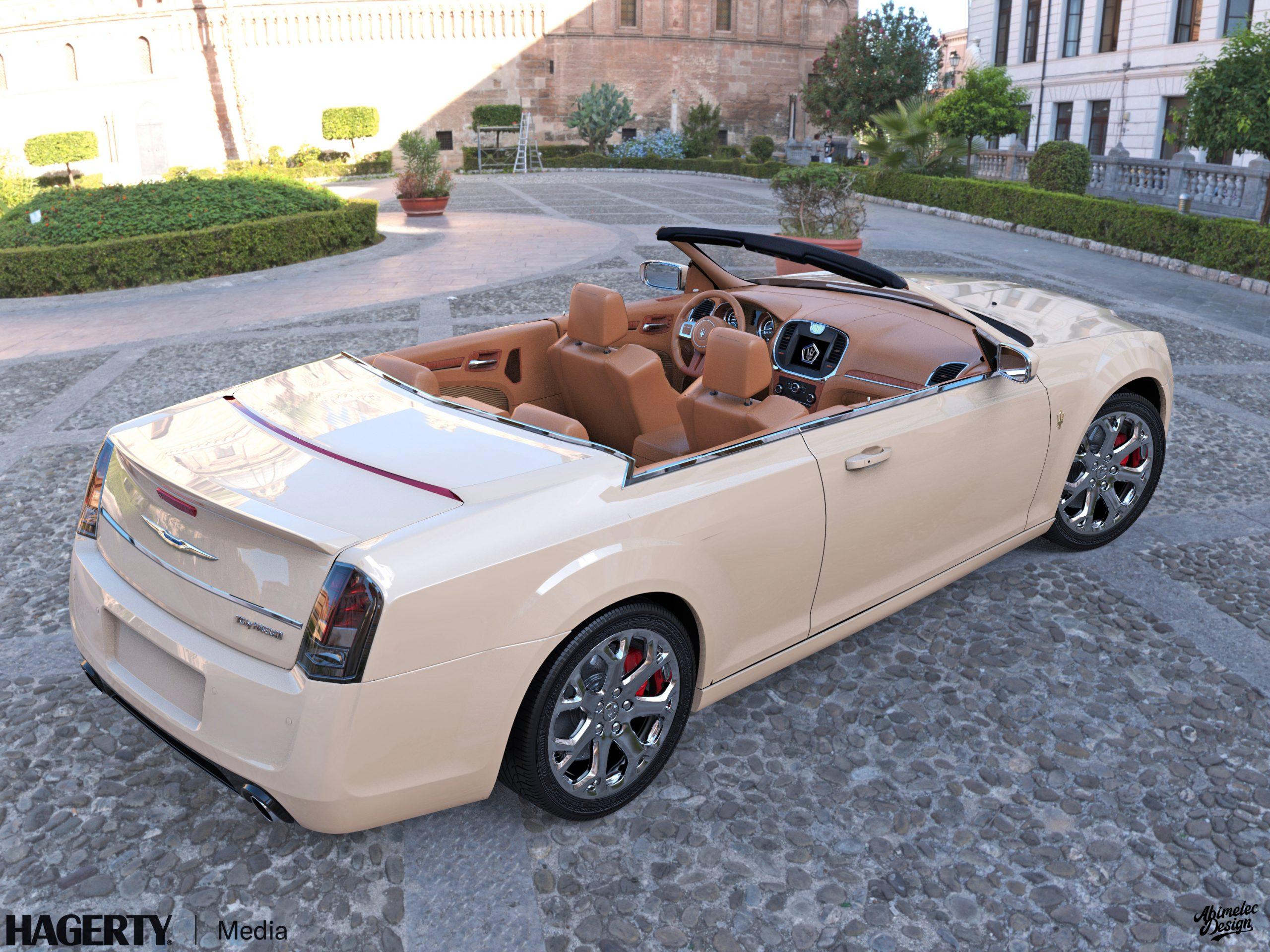 Chrysler TC by Maserati What If creme