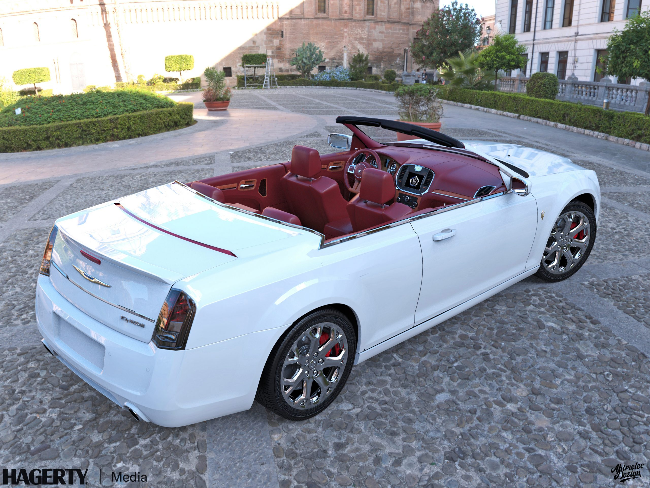 Chrysler TC by Maserati What If white
