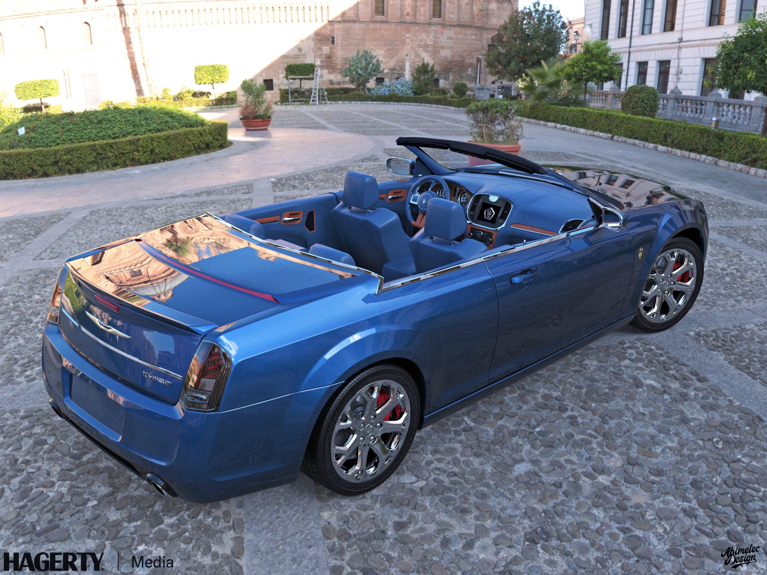 Chrysler TC by Maserati What If blue