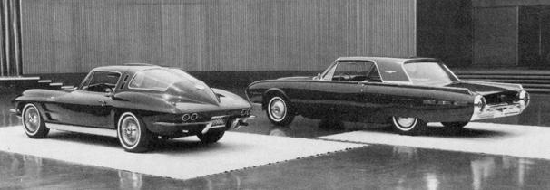 4-Seater 1963 Split Window Coupe Prototype rear three-quarter