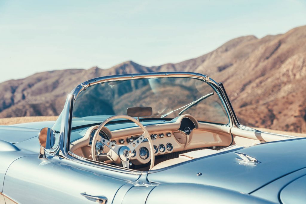 classic corvette interior