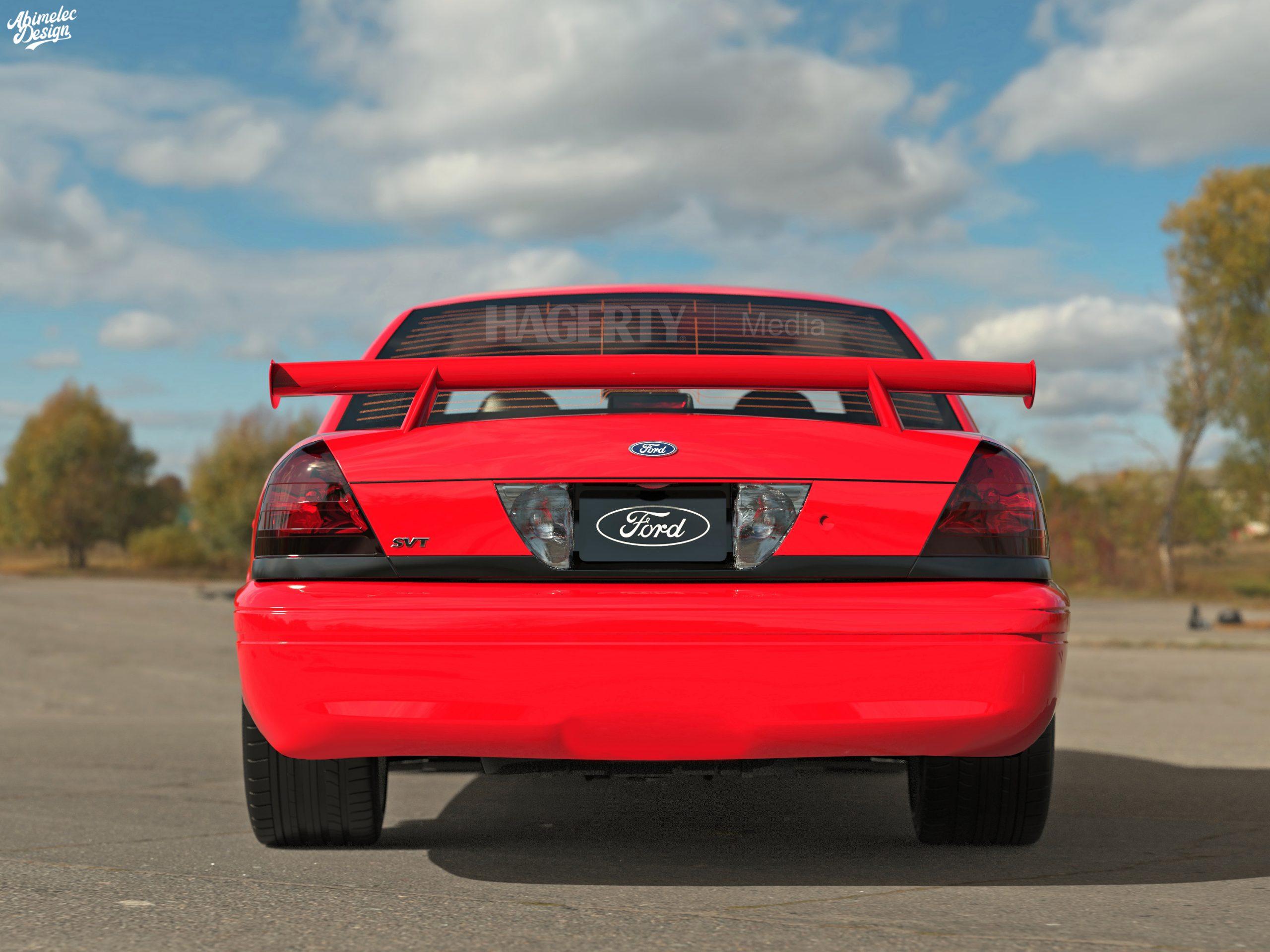 Crown Victoria SVT Cobra R rear