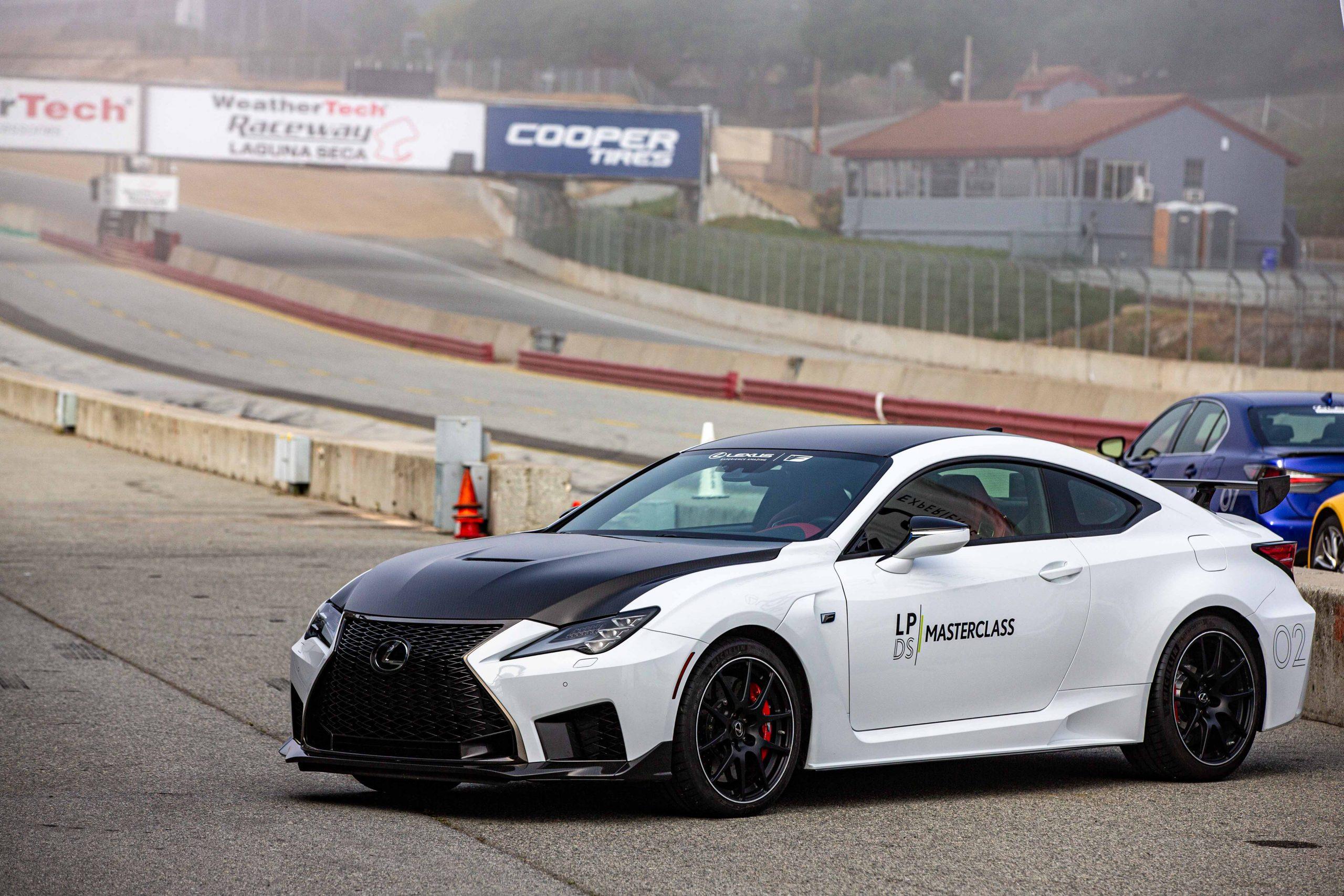 RC F Track Edition Lexus Performance Driving School June 2021 Laguna Seca