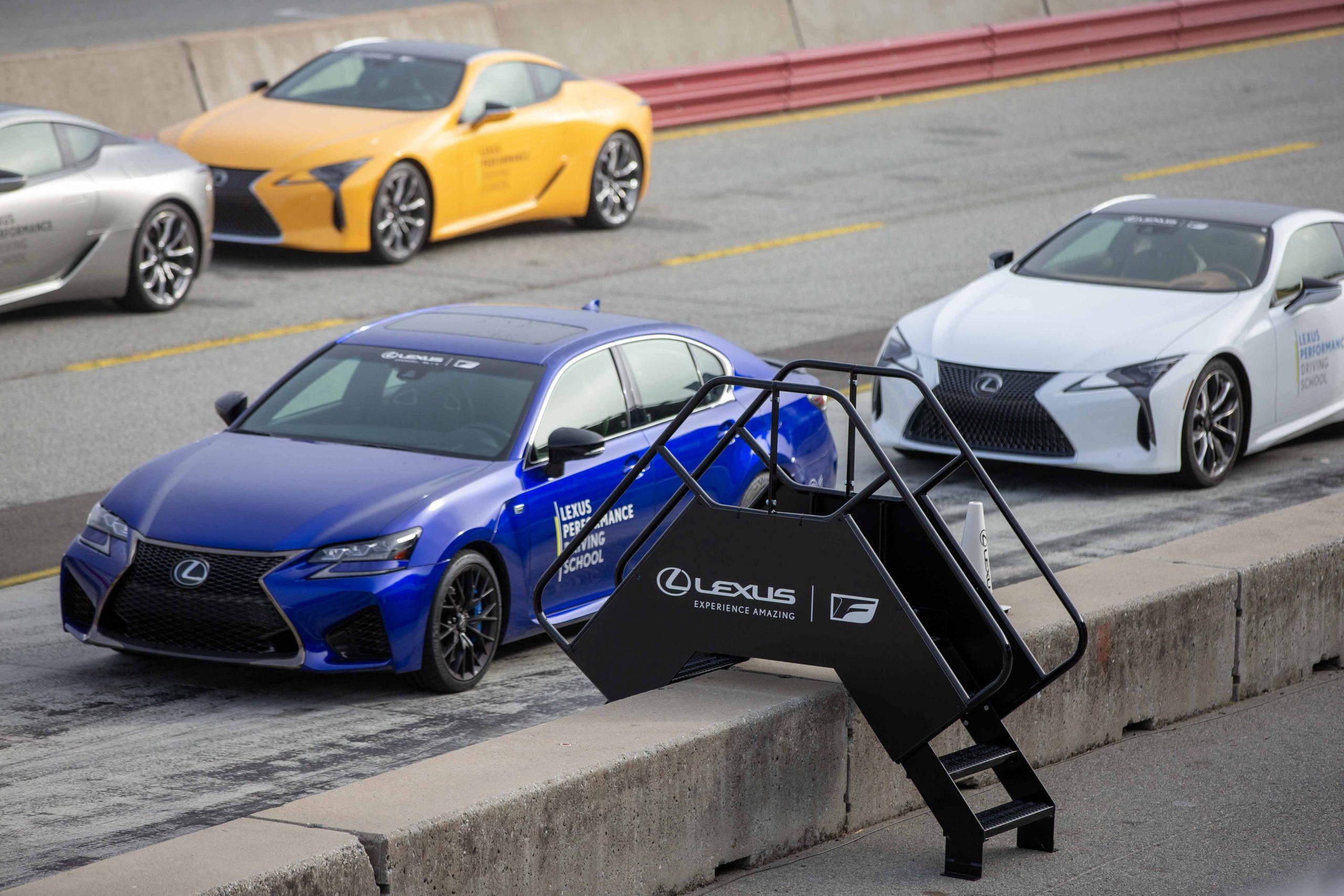 on track Lexus Performance Driving School June 2021 Laguna Seca