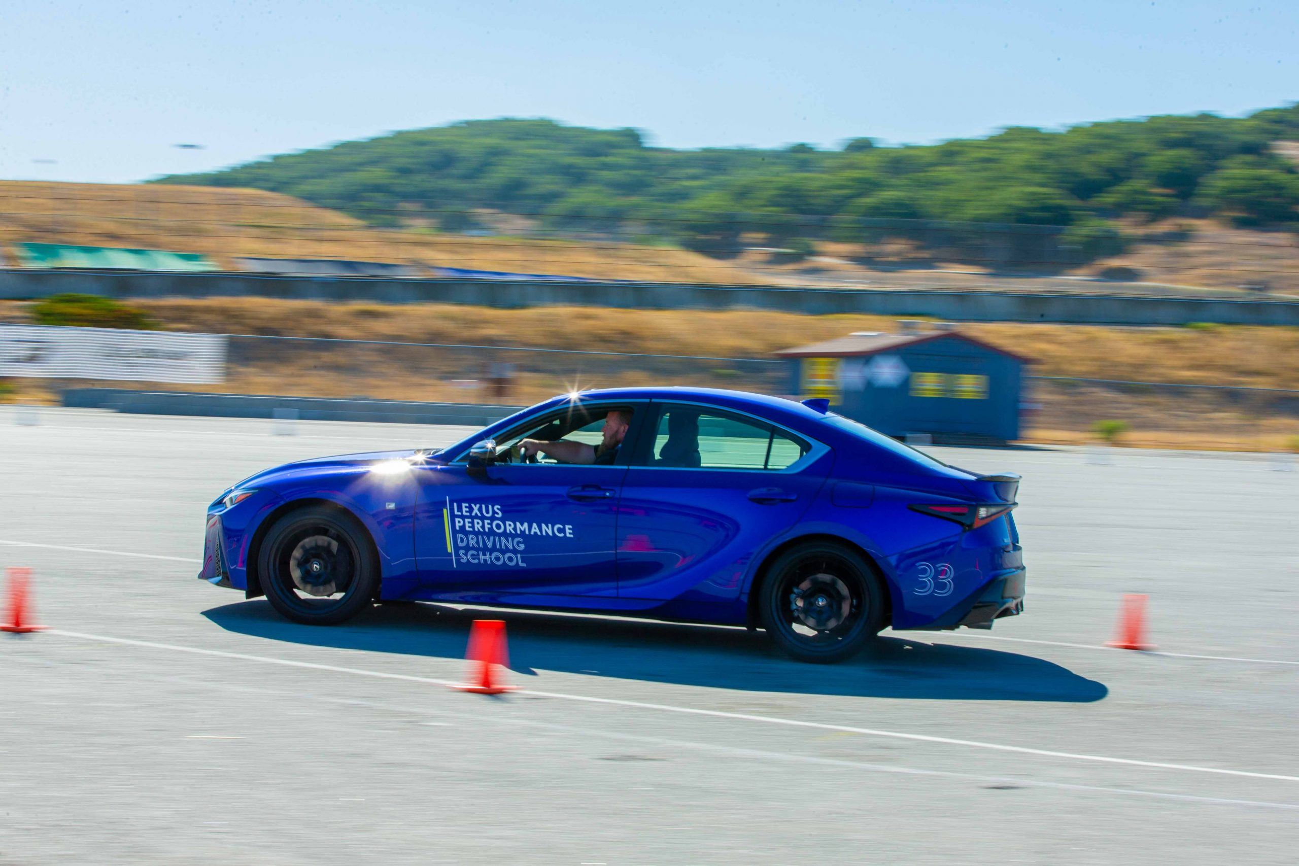 autocross Lexus Performance Driving School June 2021 Laguna Seca