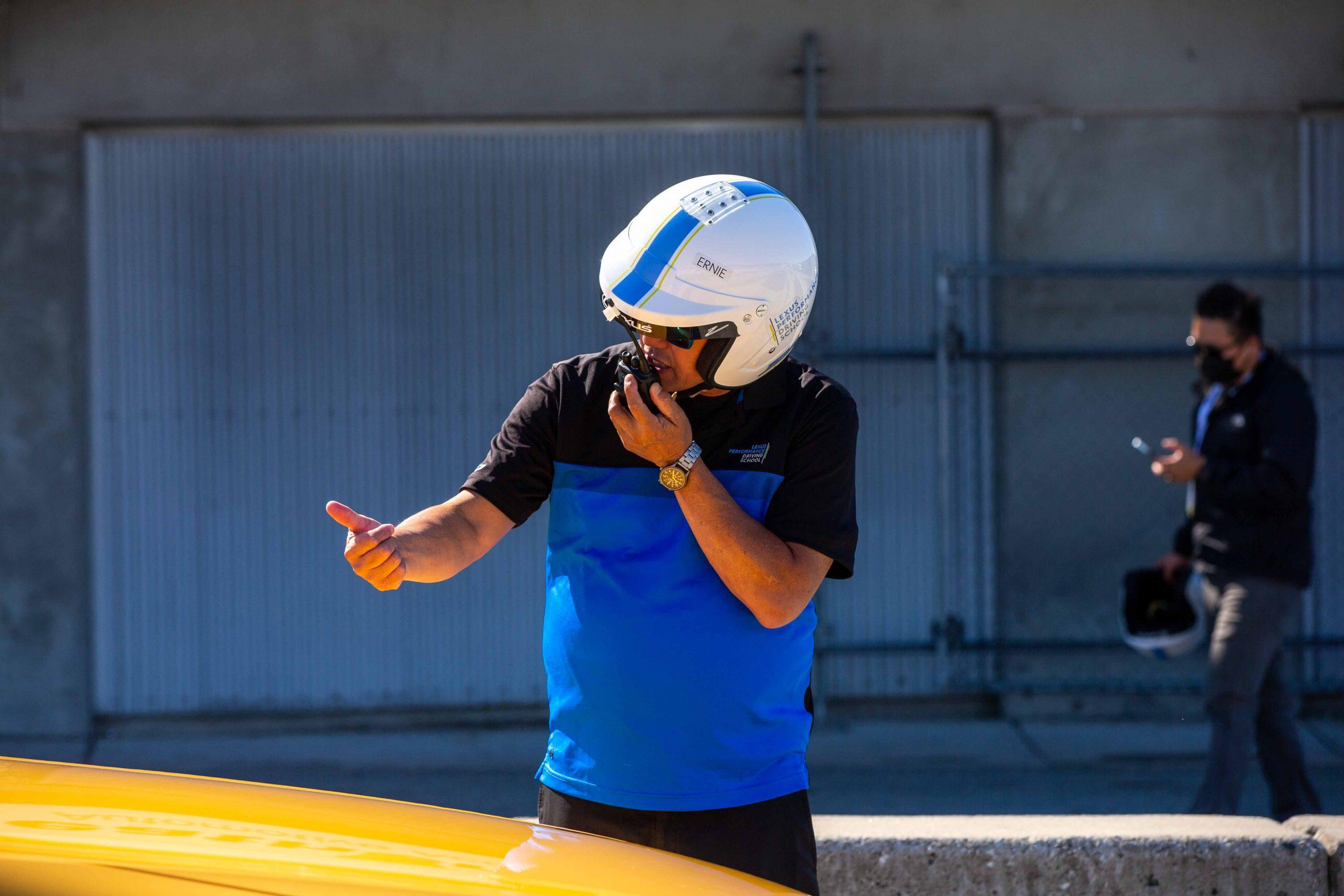 instructor Lexus Performance Driving School June 2021 Laguna Seca