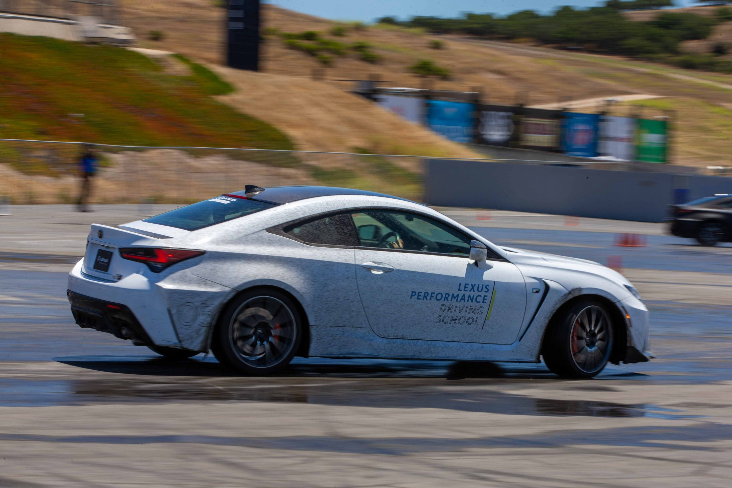 skidpad Lexus Performance Driving School June 2021 Laguna Seca