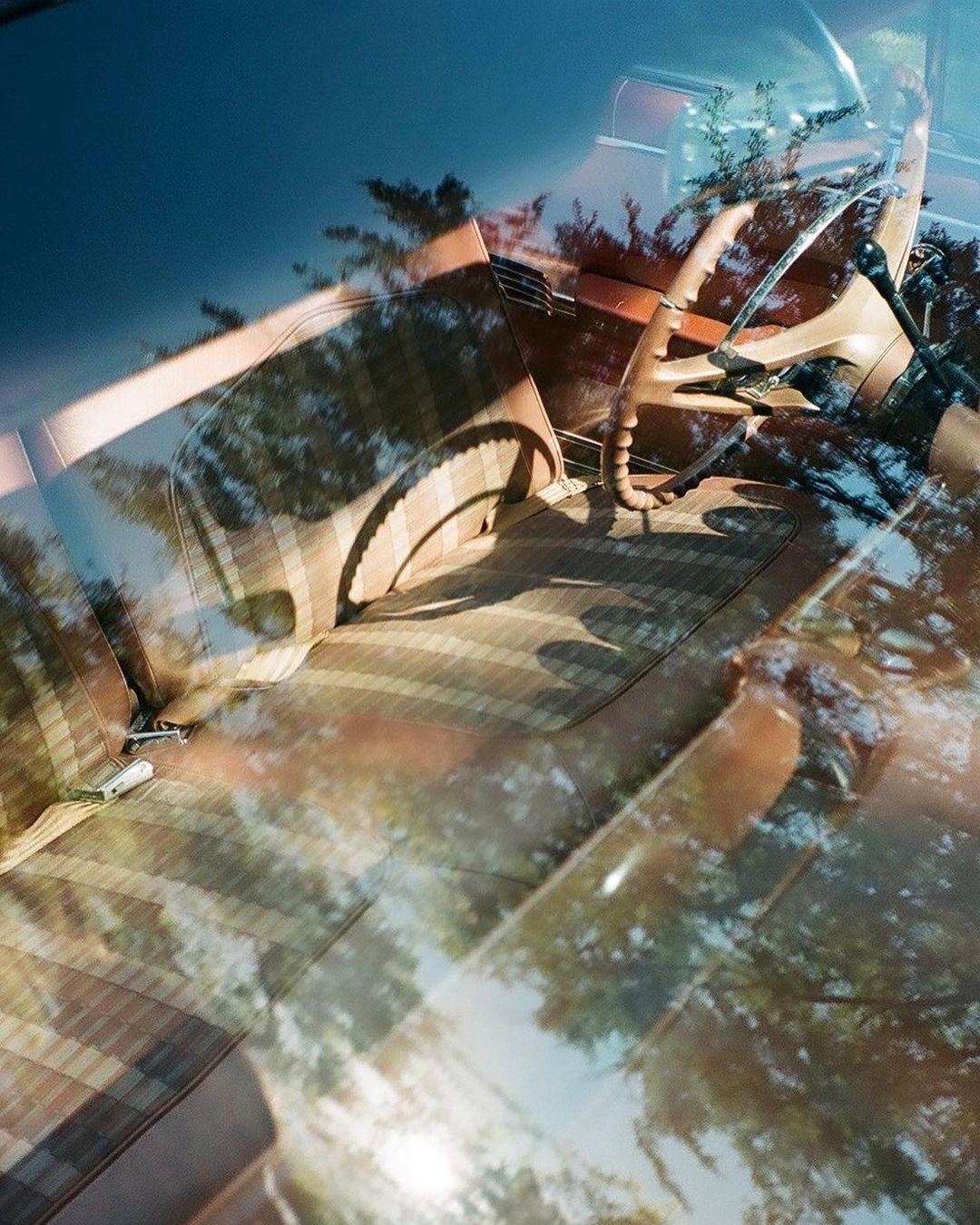 Devin Booker Impala interior through glass