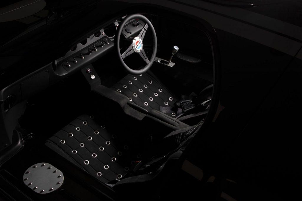 Everrati Superformance gt40 conversion interior