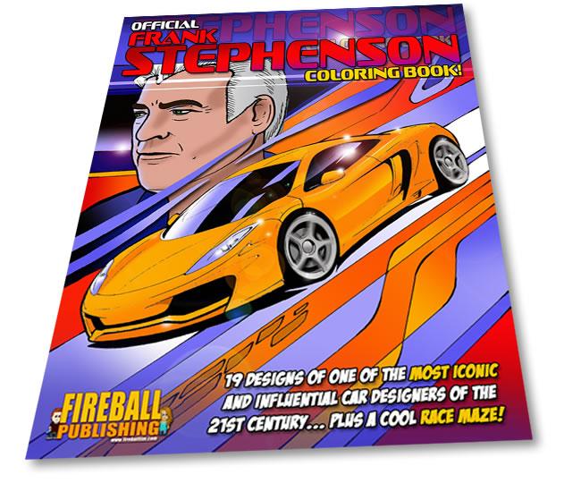 Frank Stephenson coloring book
