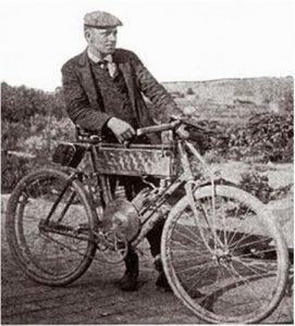 George Wyman motorcycle