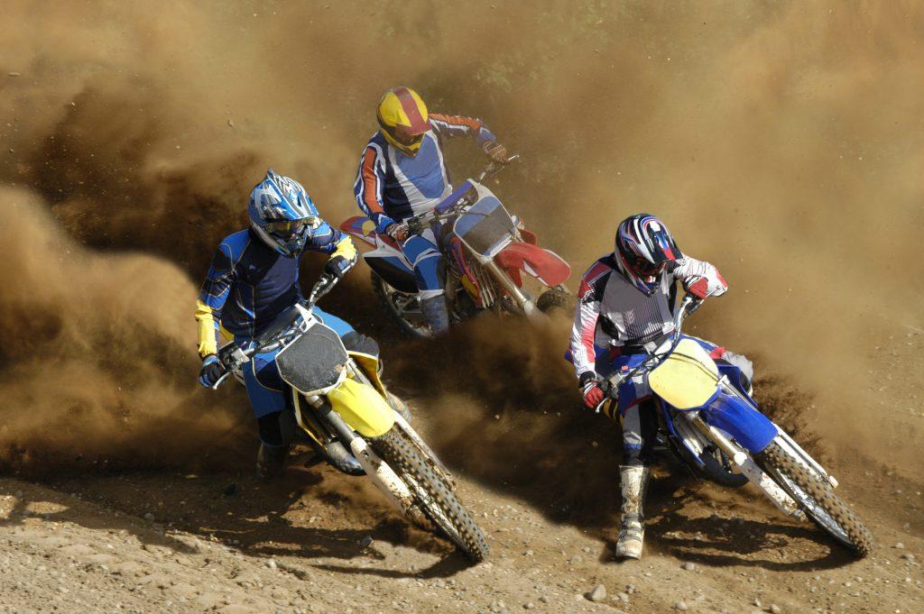 Tight Turn motocross bikes
