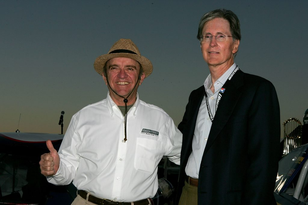 Jack Roush and Boston Red Sox team owner John Henry