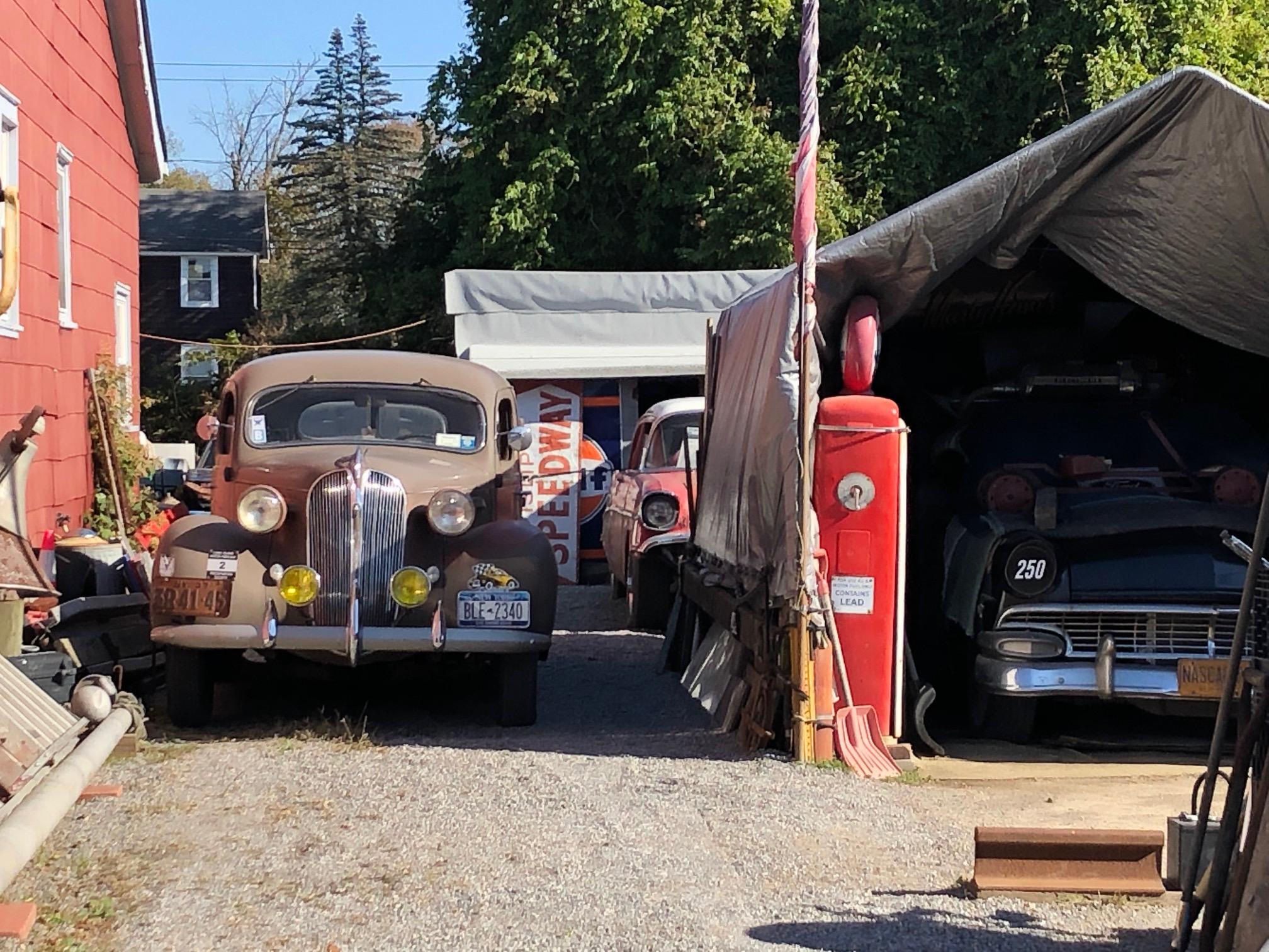 Himes Museum race cars