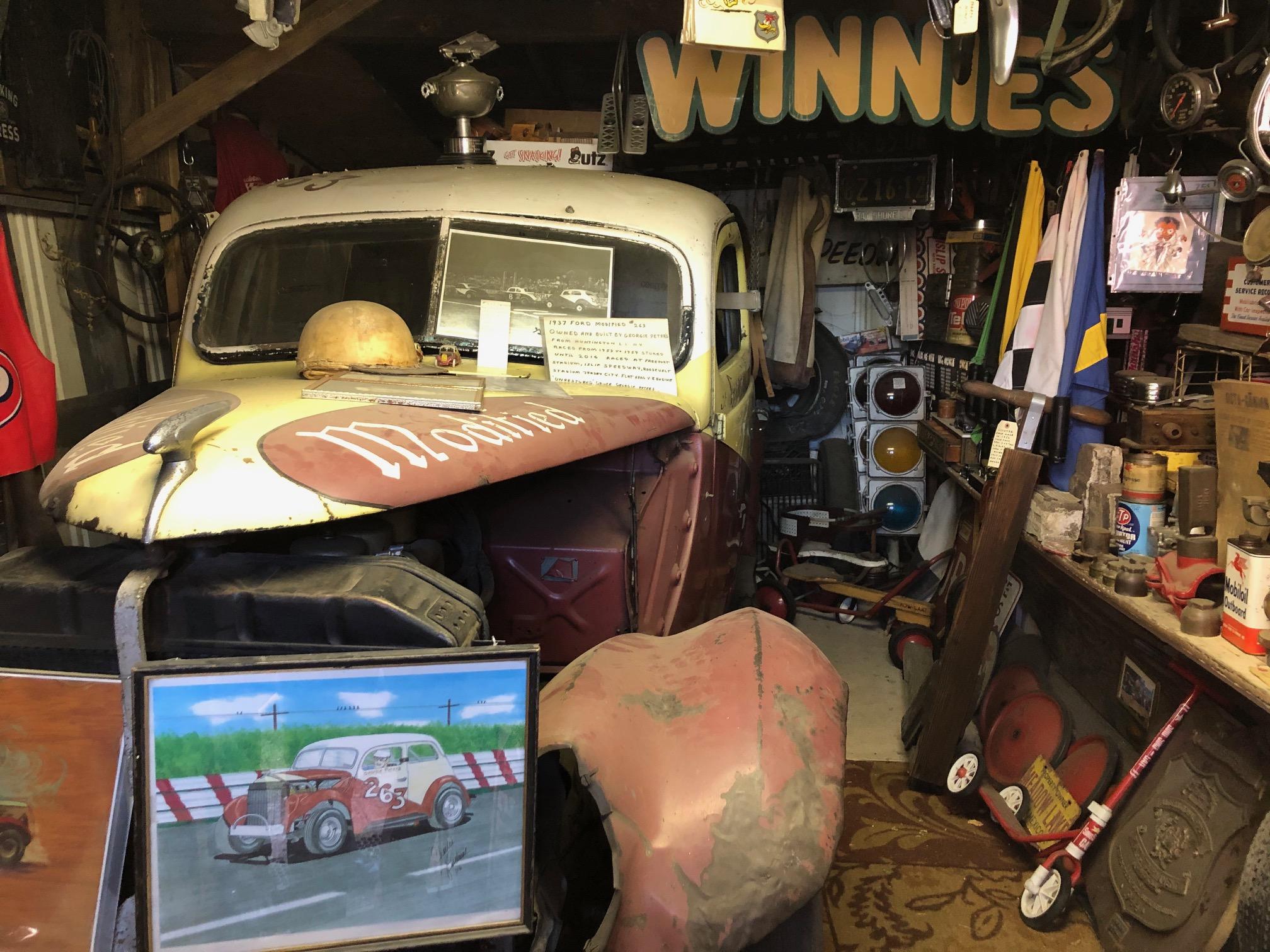 Himes Museum race car