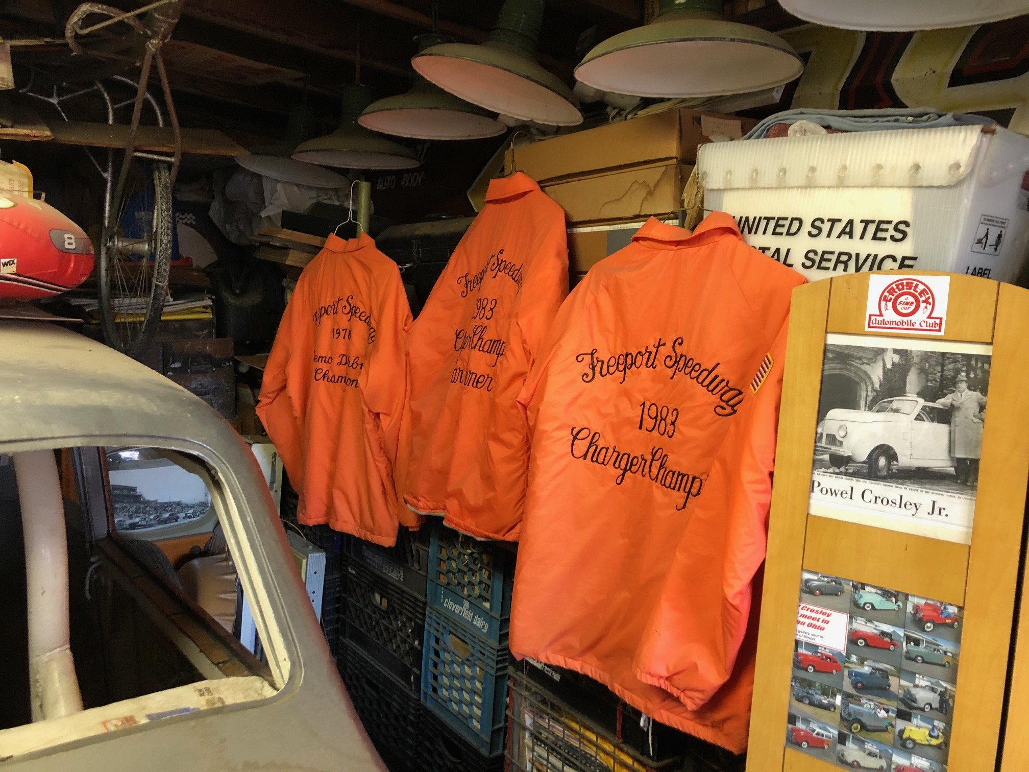 Himes Museum racing team jackets